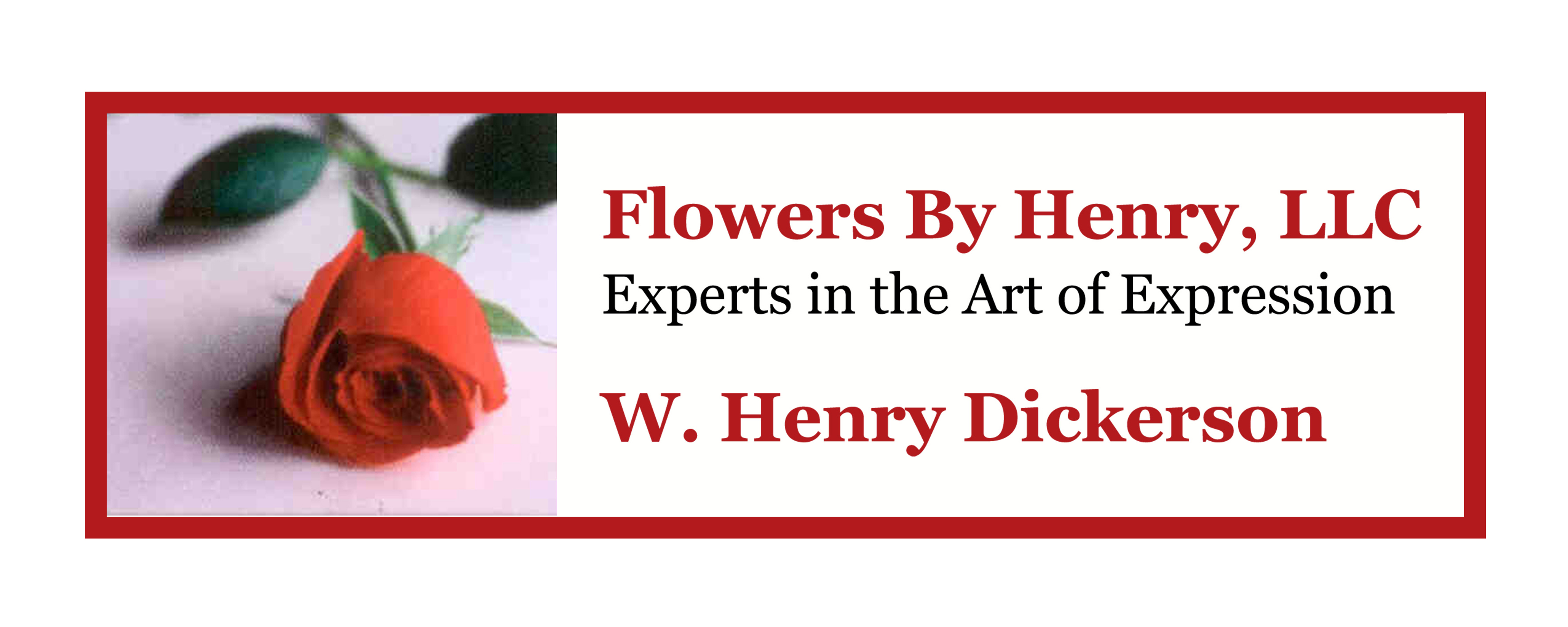 flowers by henry logo