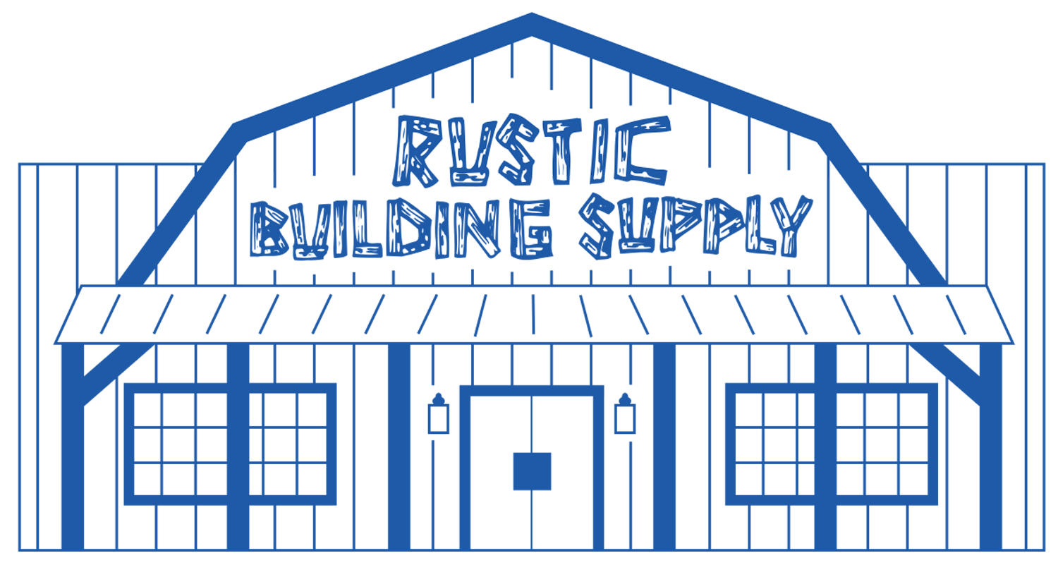 rustic building supply